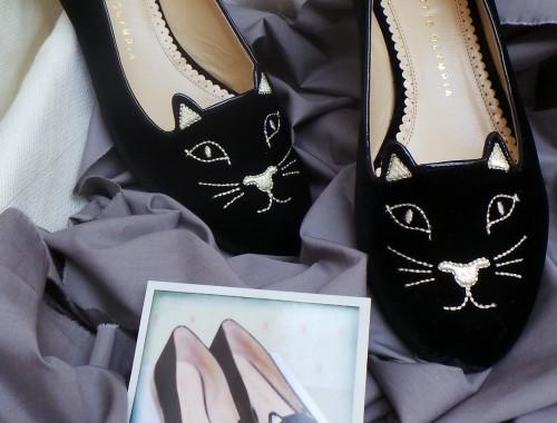 Charlotte Olympia cat pumps 3