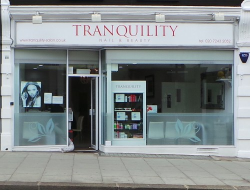 Tranquility shop front