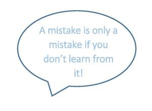 mistake speech bubble