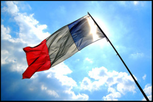 French_flag_flying